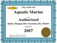 Authorized Kirby Morgan dealer