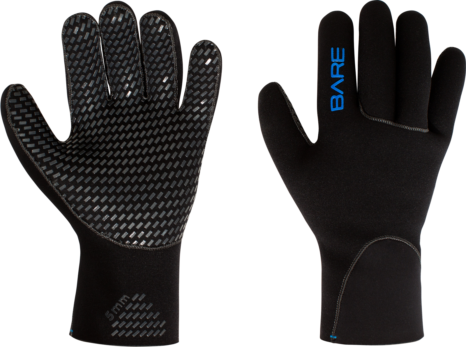 BARE Sports HANDSKER 5MM GLOVE 5-FINGER - KORT SKAFT