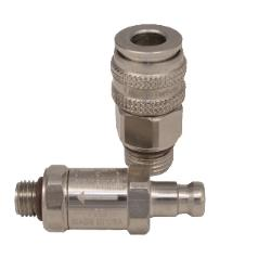OmniSwivel QUICK DISCONNECT TO REGULATOR HOSE ADAPTOR WITH CHECK VALVE